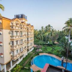 Отель OYO 12953 Home Pool View 2BHK Arpora Гоа бассейн фото 3