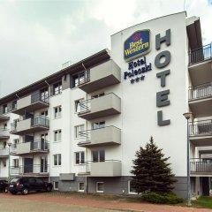Best Western Hotel Poleczki парковка
