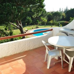 Отель Solar Das Palmeiras Португалия, Виламура - отзывы, цены и фото номеров - забронировать отель Solar Das Palmeiras онлайн балкон