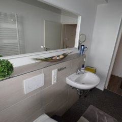 Отель Ferienwohnung Düsseldorf ванная фото 2