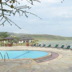 Отель Sentrim Elementaita Lodge Кения, Накуру - отзывы, цены и фото номеров - забронировать отель Sentrim Elementaita Lodge онлайн бассейн фото 3