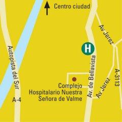 Отель Bellavista Sevilla Hotel Испания, Севилья - отзывы, цены и фото номеров - забронировать отель Bellavista Sevilla Hotel онлайн парковка