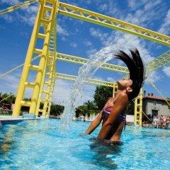 Hotel Palm Beach Римини бассейн фото 3