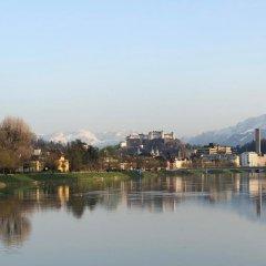 Апартаменты Salzburg Apartments Зальцбург приотельная территория