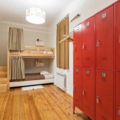 Lisboa Central Hostel сейф в номере