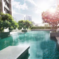 Отель AETAS residence Таиланд, Бангкок - 2 отзыва об отеле, цены и фото номеров - забронировать отель AETAS residence онлайн бассейн фото 2