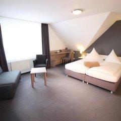 Отель Restaurant Jägerhof Германия, Брауншвейг - отзывы, цены и фото номеров - забронировать отель Restaurant Jägerhof онлайн комната для гостей фото 3