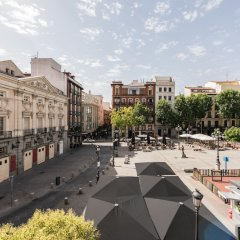 Отель Santa Ana Plaza - MADFlats Collection Испания, Мадрид - отзывы, цены и фото номеров - забронировать отель Santa Ana Plaza - MADFlats Collection онлайн балкон
