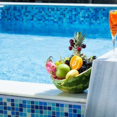 Отель Nymphes Deluxe Accommodation Греция, Пефкохори - отзывы, цены и фото номеров - забронировать отель Nymphes Deluxe Accommodation онлайн бассейн фото 2