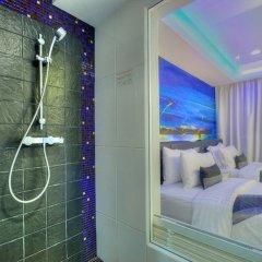 Отель Aspira Skyy Sukhumvit 1 Таиланд, Бангкок - отзывы, цены и фото номеров - забронировать отель Aspira Skyy Sukhumvit 1 онлайн ванная фото 2