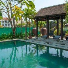 Отель Ao Lang Villa бассейн