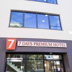 Отель 7 Days Premium Munich-sendling Мюнхен городской автобус