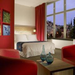 Park Inn Hotel Prague 4* Стандартный номер с различными типами кроватей фото 5