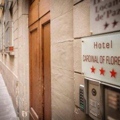 Hotel Cardinal Of Florence вид на фасад