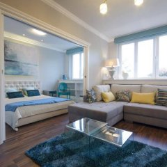 Апартаменты Dom&house Apartments Monte Cassino - Turkusowy Сопот комната для гостей фото 5
