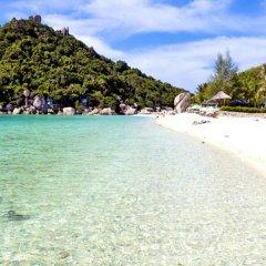 Отель Nangyuan Island Dive Resort Таиланд, о. Нангьян - отзывы, цены и фото номеров - забронировать отель Nangyuan Island Dive Resort онлайн пляж фото 2