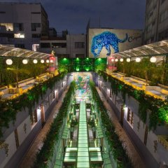 Отель Parque Mexico Мехико бассейн фото 3