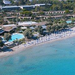Отель Kernos Beach пляж