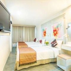 Отель Pratunam City Inn Таиланд, Бангкок - отзывы, цены и фото номеров - забронировать отель Pratunam City Inn онлайн комната для гостей фото 2