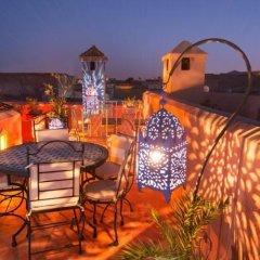 Отель Riad Dar Eliane Марокко, Марракеш - отзывы, цены и фото номеров - забронировать отель Riad Dar Eliane онлайн приотельная территория фото 2