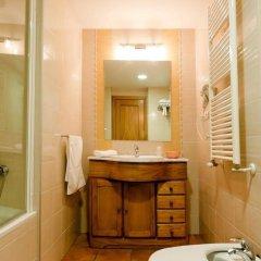 Hotel Camping Bielsa ванная