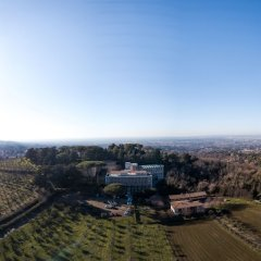 Отель Villa Cavalletti Camere Италия, Гроттаферрата - отзывы, цены и фото номеров - забронировать отель Villa Cavalletti Camere онлайн балкон