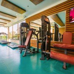 Hane Garden Hotel Сиде фитнесс-зал
