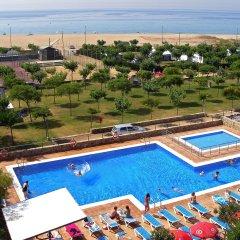 Отель Camping Del Mar Испания, Мальграт-де-Мар - отзывы, цены и фото номеров - забронировать отель Camping Del Mar онлайн бассейн