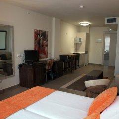 Отель Eco Alcala Suites Испания, Мадрид - 2 отзыва об отеле, цены и фото номеров - забронировать отель Eco Alcala Suites онлайн комната для гостей фото 3
