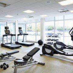 Отель SpringHill Suites by Marriott Columbus OSU фитнесс-зал фото 2