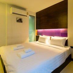 Отель The Bangkok Airport Link Suite комната для гостей фото 3