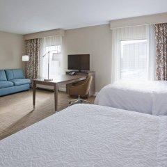 Отель Hampton Inn Minneapolis Bloomington West США, Блумингтон - отзывы, цены и фото номеров - забронировать отель Hampton Inn Minneapolis Bloomington West онлайн комната для гостей фото 2