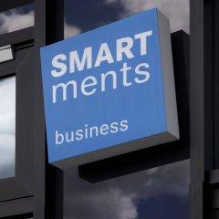Отель Smartments Business MÜnchen Parkstadt Schwabing Мюнхен банкомат