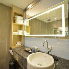 Отель A First Myeong Dong Сеул ванная