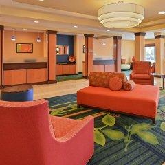 Отель Fairfield Inn And Suites By Marriott Columbus West Колумбус интерьер отеля фото 3