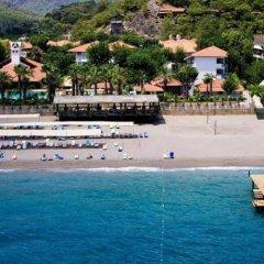Отель Larissa Park Beldibi пляж