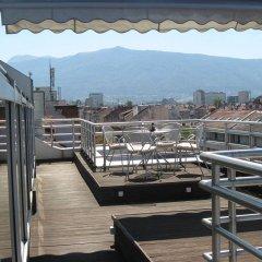 Отель Les Fleurs Boutique Hotel Болгария, София - отзывы, цены и фото номеров - забронировать отель Les Fleurs Boutique Hotel онлайн балкон