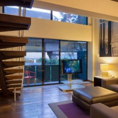 Отель Las Suites Campos Eliseos Мексика, Мехико - отзывы, цены и фото номеров - забронировать отель Las Suites Campos Eliseos онлайн комната для гостей фото 4