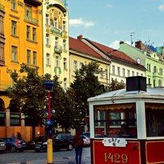 Отель Meran Чехия, Прага - 7 отзывов об отеле, цены и фото номеров - забронировать отель Meran онлайн городской автобус