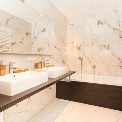 Отель Abieshomes Serviced Apartments - Votivpark Австрия, Вена - отзывы, цены и фото номеров - забронировать отель Abieshomes Serviced Apartments - Votivpark онлайн ванная фото 2