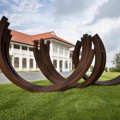 Отель Capella Singapore фитнесс-зал
