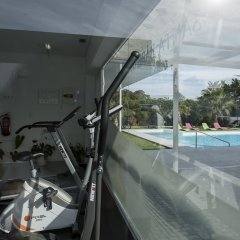 Отель Quinta de Santa Bárbara Casas Turisticas фитнесс-зал фото 3