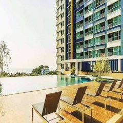 Отель Lumpini Parkbeach Jomtien Sea&Pool View by Dome Паттайя бассейн