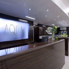 Aqua Hotel Римини интерьер отеля