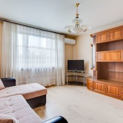 Апартаменты Apartment near park Kolomenskoe комната для гостей фото 4