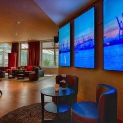 Отель Leonardo Hamburg Airport Гамбург фитнесс-зал фото 3
