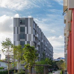 Отель Establiss By Weena Бангкок балкон