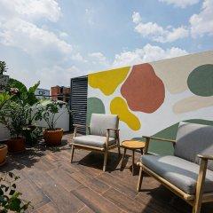 Апартаменты Cute Studio on top Floor in Condesa Мехико фото 2