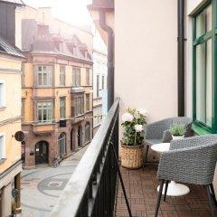 Отель Elite Hotel Esplanade Швеция, Мальме - отзывы, цены и фото номеров - забронировать отель Elite Hotel Esplanade онлайн балкон