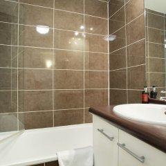 Отель Odalys City Lyon Bioparc Франция, Лион - отзывы, цены и фото номеров - забронировать отель Odalys City Lyon Bioparc онлайн ванная фото 2